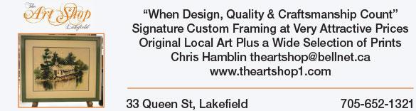 Art shop banner