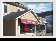 The art shop Lakefield